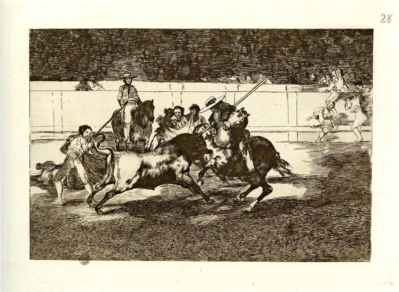 La Tauromachie de Goya :