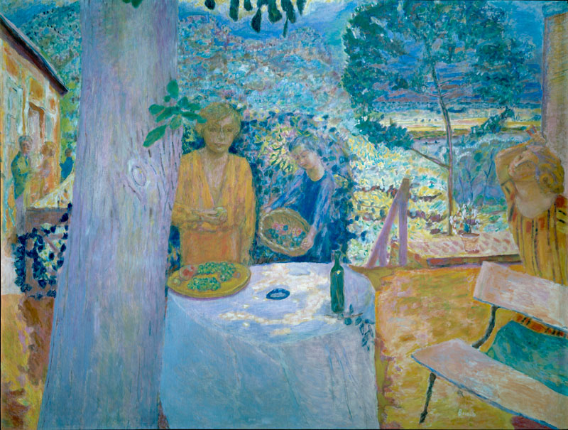 Bonnard en Normandie : Décor à Vernon (La Terrasse à Vernon), 1920-1939 © The Metropolitan Museum of Art © ADAGP, Paris 2011
