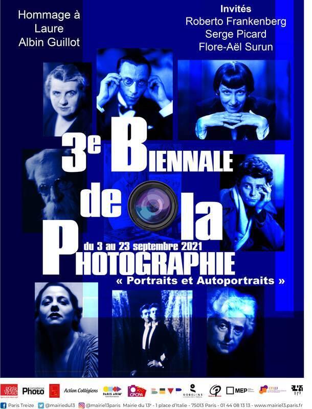 3e Biennale de la photographie du 13e– Portraits et autoportraits :