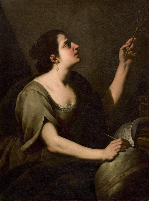 Vélasquez, Ribera, Giordano – Portraits de la pensée : Maître de l'Annonciation aux Bergers, L'Astronomie © Galerie G. Sarti, Paris