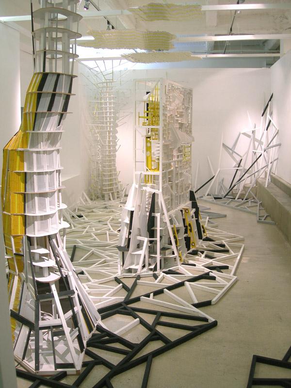 Clément Bagot & Raphaël Zarka - Behind : Clément Bagot, Sculptures, 2010