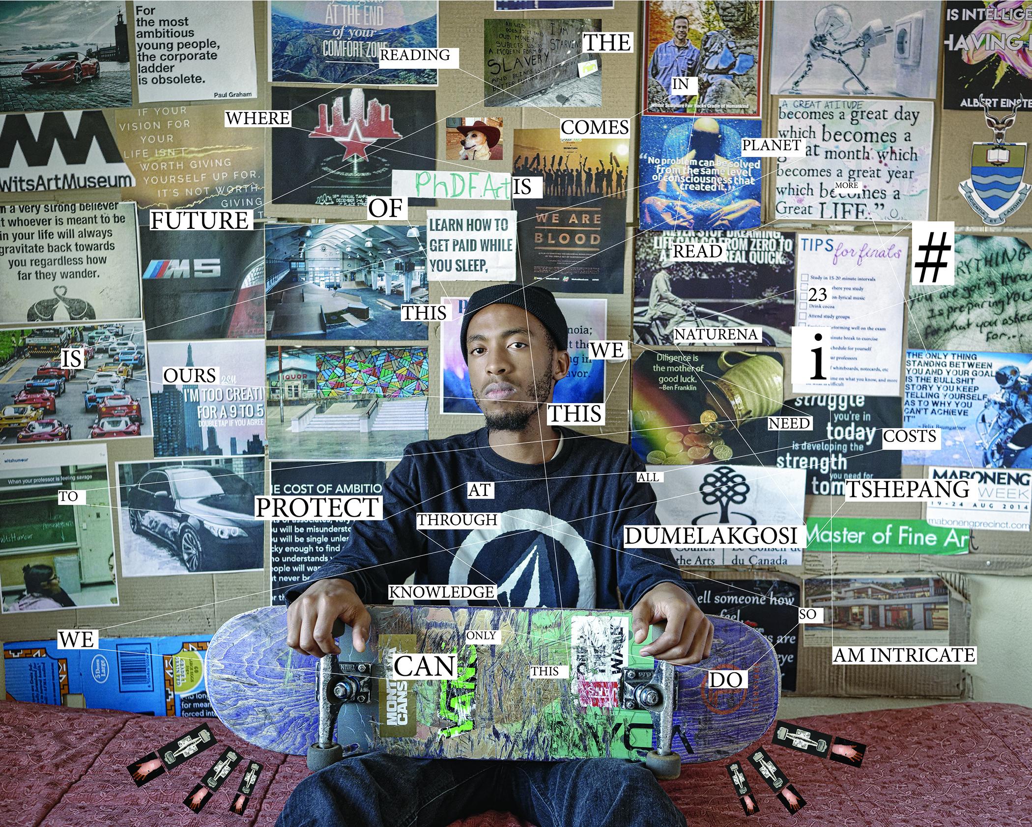 12e édition des Rencontres de Bamako – Biennale africaine de la photographie : Jodi Bieber, #I (Tshepang Dumelakgosi), 2016-2017. Courtesy of the artist