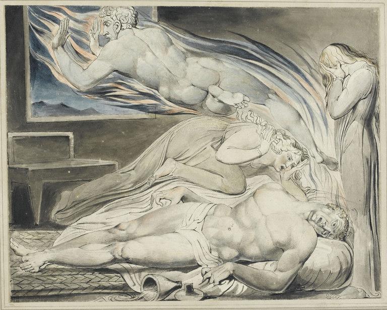 De la Renaissance au Romantisme. : William Blake © RMN / Thierry Le Mage