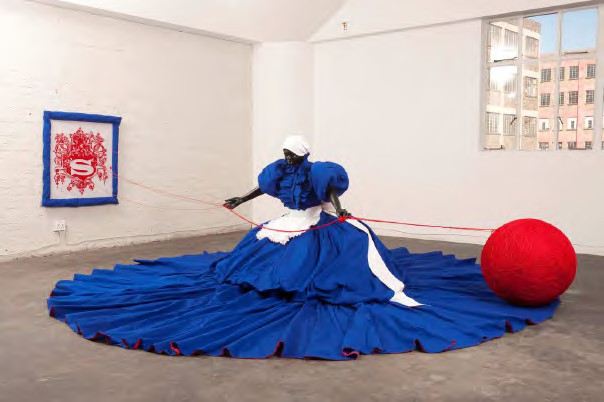 My Joburg : Mary Sibande, Wish you were here, 2010