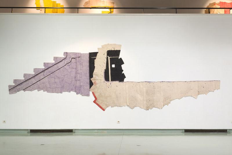 Max Charvolen. Les entre-bords (between limits). : Pièces mises à plat © Christian Kempf