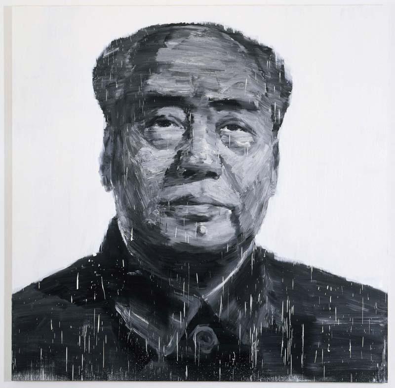 Chefs-d'œuvre modernes et contemporains : Pei-Ming Yan, Portrait de Mao (2003), coll. Frac Midi- Pyrénées © Adagp ; photogr. André Morin