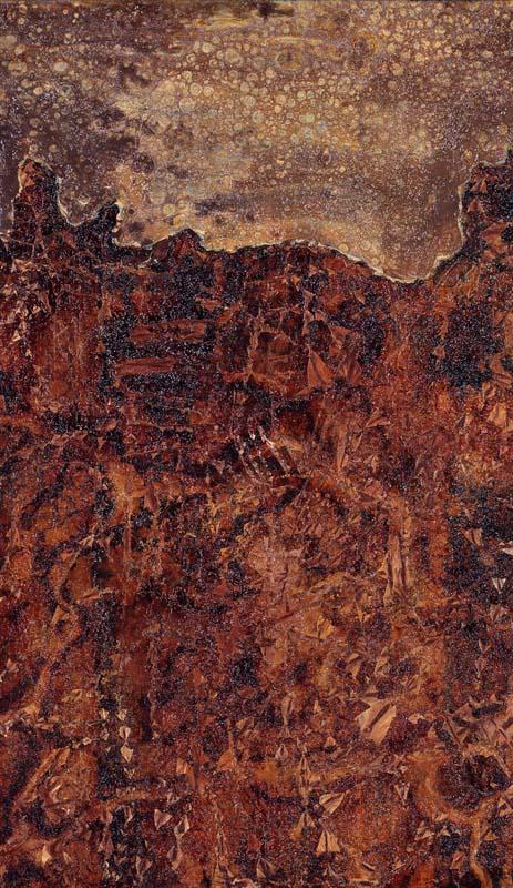 Chefs-d'œuvre modernes et contemporains : Jean Dubuffet, Paysage au ciel tavelé (1952), les Abattoirs, Toulouse © Adagp ; photogr. Auriol et Gineste