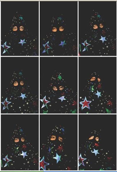 Visions archipéliques : EWAN ATKINSON, Starman : nine states 48,26 x 33,02 cm (x9) 2009  ©DR