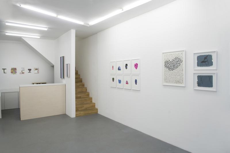 Autour du dessin : Vue de l'exposition © Galerie Djeziri-Bonn