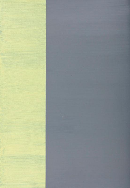 Emmanuel Van Der Meulen - Chronochromie : Emmanuel Van der Meulen, sans titre, 2009, acrylique sur papier, 42 x 29,5 cm, courtesy galerie Jean Fournier, crédit photographique : Antoine Delage de Luget