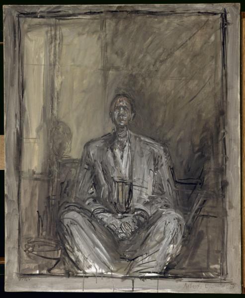 Jean Genet, l'échappée belle : Alberto Giacometti, Portrait de Jean Genet, 1954-1955 Paris, Centre Pompidou MNAM-CCI © Centre Pompidou, MNAM-CCI, Dist. RMN-Grand Palais / Adam Rzepka © Succession Alberto Giacometti (Fondation Alberto et Annette Giacometti, Paris / ADAGP, Paris) 2015