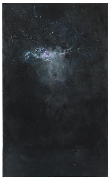 Retours de mer : Valérie Favre, Fragment, 2012, encre, acrylique et huile sur toile, 255 x 155 cm, Photo Uwe Walther, courtesy Galerie Jocelyn Wolff