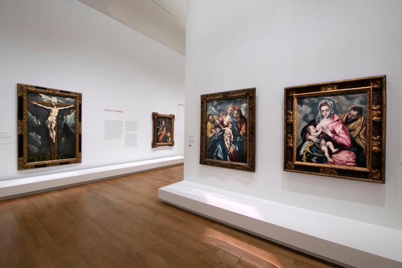 Greco : Vue de l'exposition Greco, Grand Palais, Paris, 2019