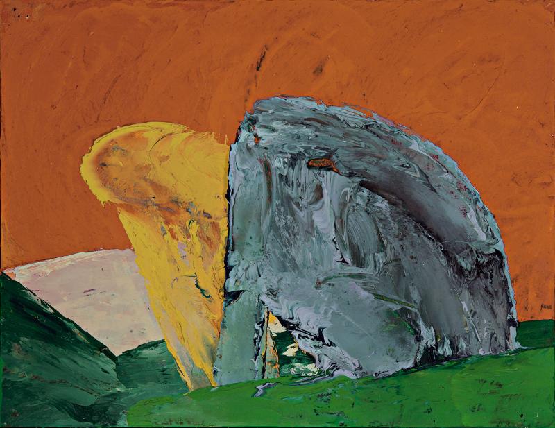 Guy Le Meaux – Œuvres récentes : Chair et nature. 2011, huile sur bois, 27 x 35 cm. Courtesy l'artiste et galerie Bruno Mory, Besanceuil.