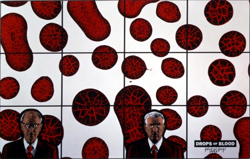 IMAGES FABRIQUEES/PHOTOGRAPHIE PLASTICIENNE, la collection Claudine et Jean-Marc Salomon : © Gilbert & George, courtesy Galerie Thaddaeus Ropac, Paris