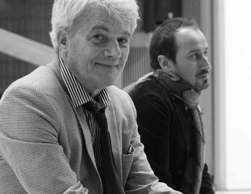 COSMOS. Silence, on tourne ! : Bernard Moninot et Matthieu Senhadji _ Vernissage de l'exposition cOSMOS, silence, on tourne! au LAAC, Dunkerque©MathildeCoquelPhotographie (3)