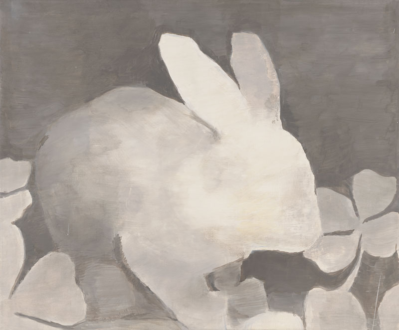 Luc Tuymans. Rétrospective : 24.	Luc Tuymans, The Rabbit, 1994; oil on canvas; 23 ¼ x 28 1/8 in. (59,3 x 71,5 cm); Private collection, courtesy Hauser & Wirth, Zurich / London © Luc Tuymans; photo: courtesy David Zwirner, New York