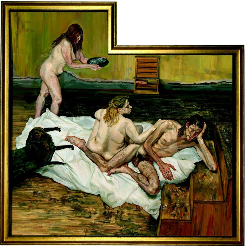 Lucian Freud - L'atelier : Photo © National Gallery of Australia, Canberra ©Lucian Freud