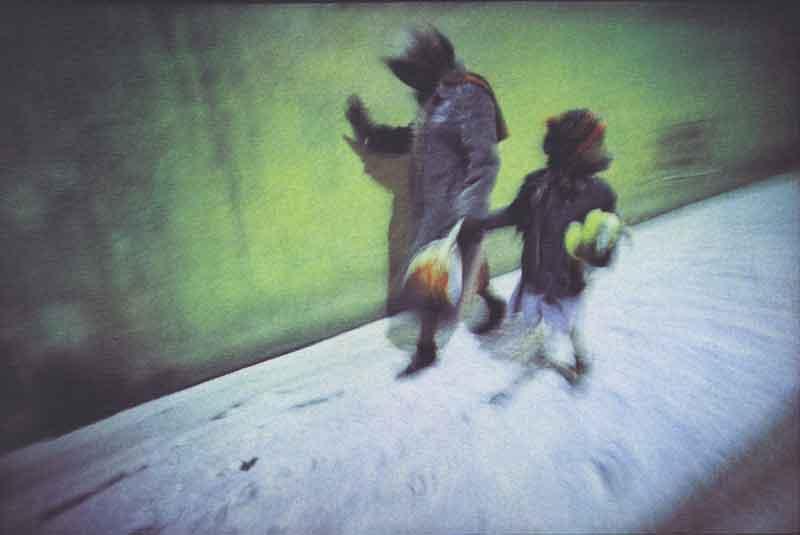 Exposition des Artistes de la cité internationale des Arts : Dolorès Marat, 1997. Tirage pigmentaire quadrichromique. Collection MEP, Paris