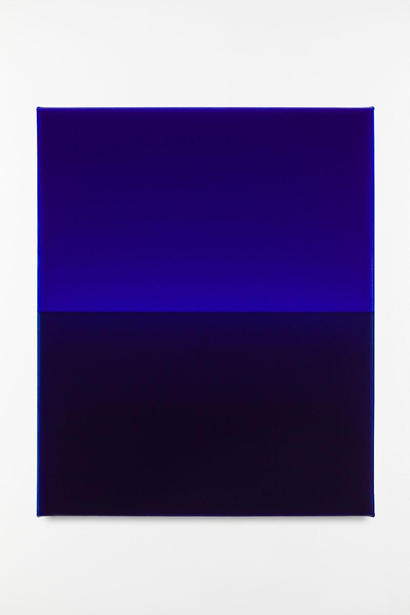 L'Entretien de la Peinture : Horizon 259 Acrylique sur toile 46x38 cm 2020, Galerie Baudoin Lebon
