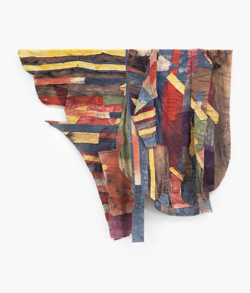 6e Biennale de Marrakech - Quoi de neuf là ? : Al Loving Sans titre c. 1975 technique mixte 66 x 74 inches Courtesy the Estate of Al Loving et Garth Greenan Gallery, New York.