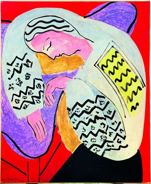 Matisse. Paires et séries : Le Rêve Nice, Hôtel Régina, 1940 (La Dormeuse) Huile sur toile 81 × 65 cm Collection particulière