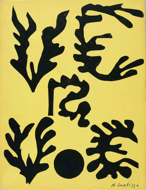 Matisse, comme un roman : Henri Matisse Verve, n°21-22, 1948 Revue 36 × 27 cm (fermé) Centre Pompidou, Bibliothèque Kandinsky, Paris © Succession H. Matisse Photo © Centre Pompidou, Mnam-Cci, Bibliothèque Kan- dinsky / Dist. Rmn-Gp