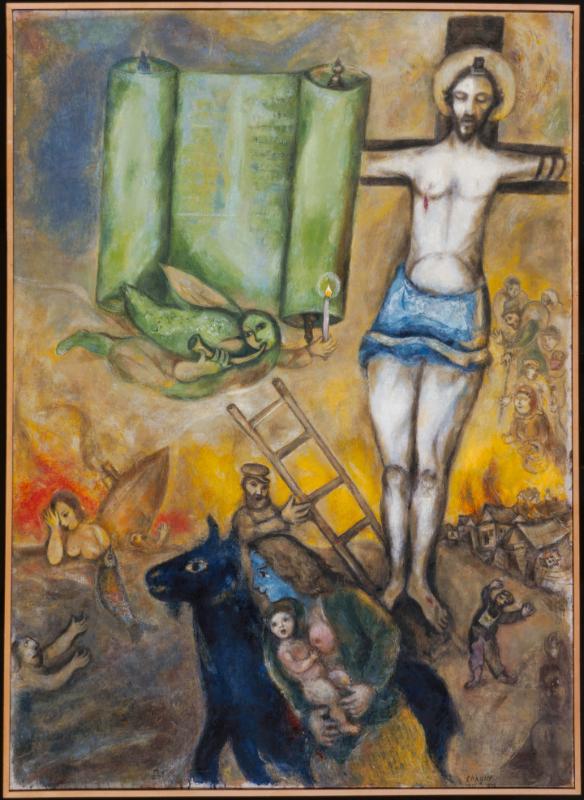 Chagall. Le passeur de lumière : © Marc Chagall Crucifixion