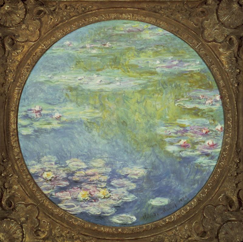Clémenceau et les artistes modernes, Manet, Monet, Rodin : Claude Monet – Nymphéas - 1908, huile sur toile © Dallas, Dallas Museum of Fine Arts - don de la Meadows Foundation