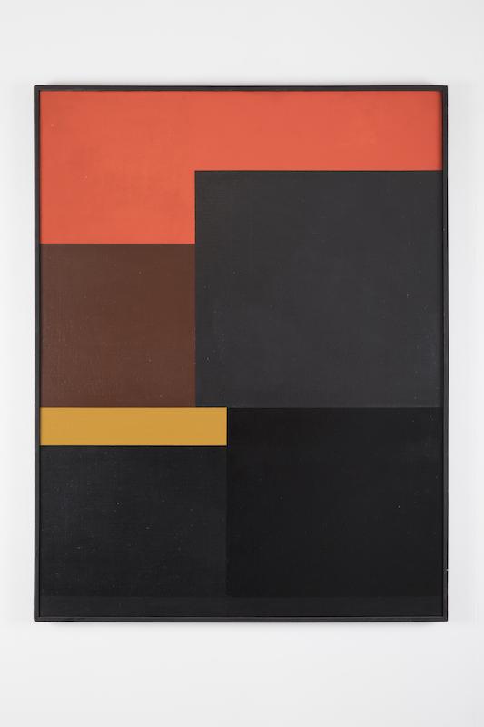 Femmes Années 50. Au fil de l'abstraction : Genevieve Claisse -  Slalom 1960 162x130 cm (Courtesy Galerie Denise René)