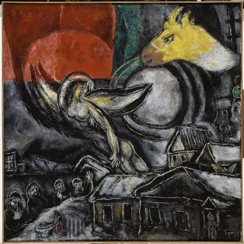 Chagall et la Bible : Les Pâques, 1968 © ADAGP, Paris 2011 – Chagall ®