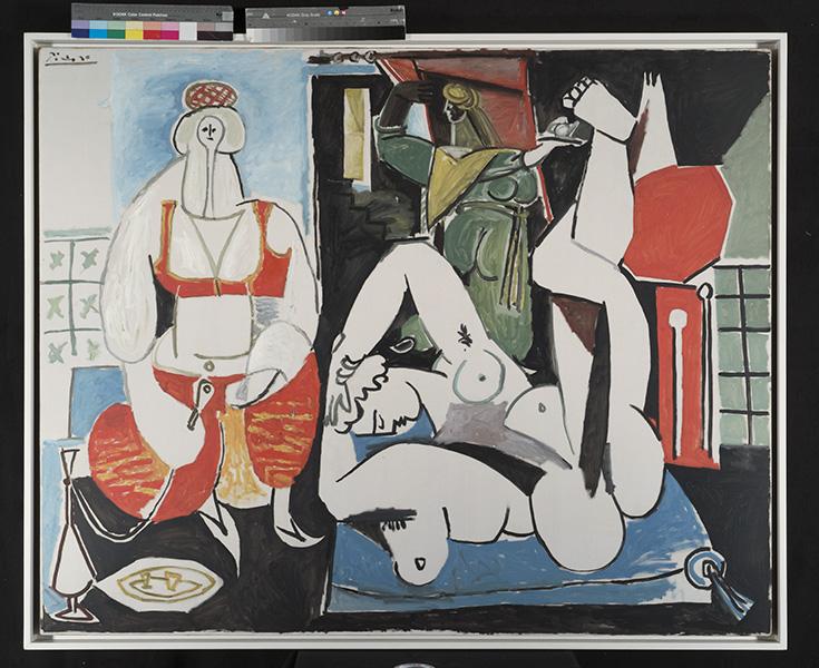Picasso au musée Soulages : Pablo PICASSO, Grand Nu au fauteuil rouge, 1929 Huile sur toile, 195 x 129 cm Musée national Picasso-Paris Dation Pablo Picasso, 1979. MP113 © Succession Picasso 2016 Photo (C) RMN-Grand Palais (Musée national Picasso-Paris) / Jean-Gilles Berizzi