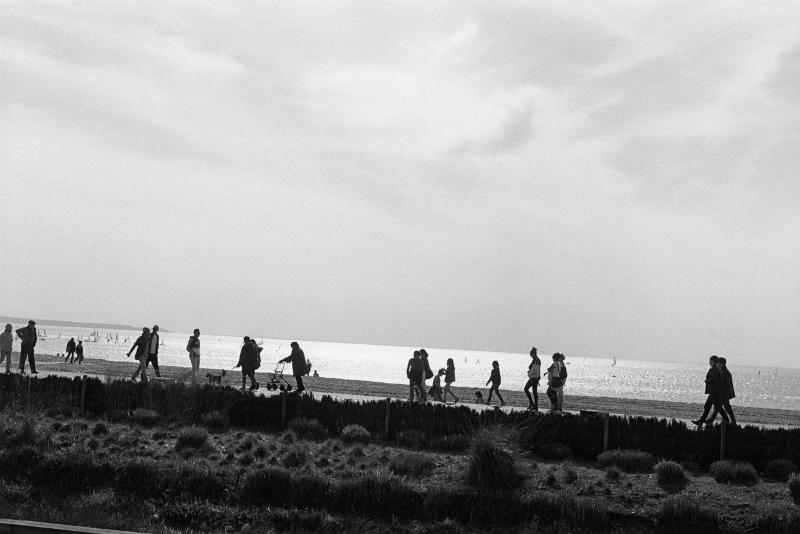 Bernard Plossu. Le Havre en noir et blanc : Bernard Plossu, Le Havre, mars 2014 © Bernard Plossu © Ilôts ISAI, architecte Auguste Perret, UFSE, SAIF 2015