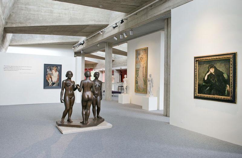 Belles de jour : Vue de l'exposition, © Musées de Poitiers