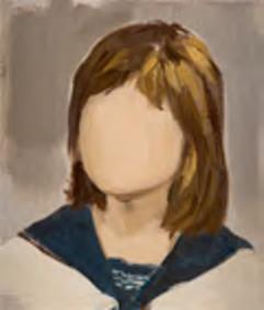 L'Autre Visage, de Tal Coat à Neumann : Gidéon Rubin Untitled 35 x 30 cm huile sur lin 2011 courtesy Rokeby Gallery Londres