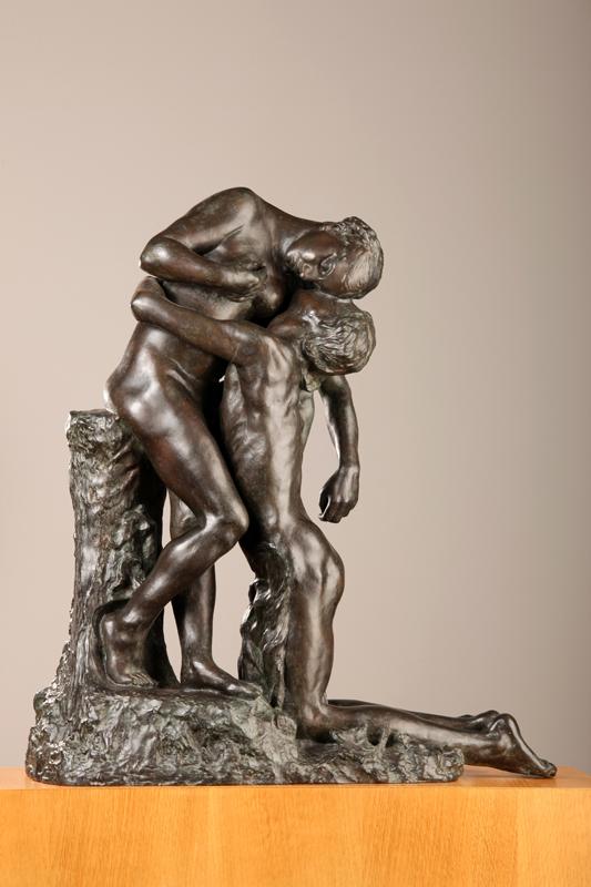 Sculpture'Elles : Camille Claudel. L'Abandon. 1886-1888, bronze, épreuve numérotée 8 fondue par Eugène Blot (1905), 62 x 57 x 27 cm. Musée municipal, Cambrai.