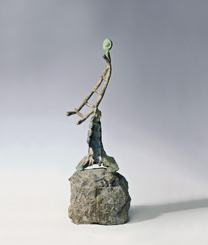 Joan Miró – The Ladder of Escape : L'Echelle de l'évasion, 1971, Fundació Joan Miró, Barcelona