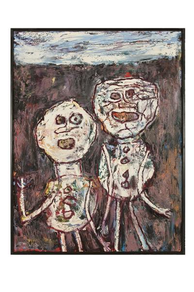 Dubuffet l'insoumis : Déambulation, 1961 huile sur toile Les Arts Décoratifs, Paris Photo Les Arts Décoratifs / Jean Tholance, © Adagp, Paris, 2014 © Fonds Hélène&Édouard Leclerc pour la Culture, 2014
