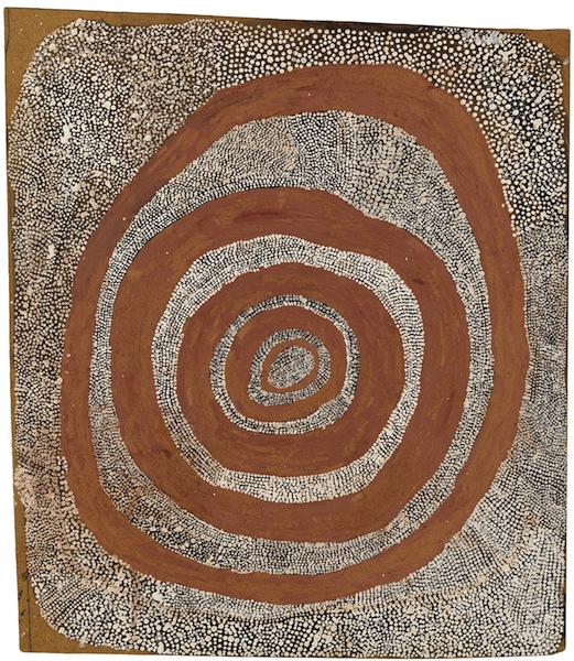 Art Absolument Les Expositions Aux Sources De La Peinture Aborigene Australie Tjukurrtjanu