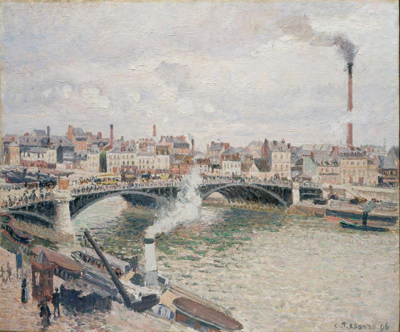 Une ville pour l'impressionnisme. Monet, Pissarro, Gauguin :