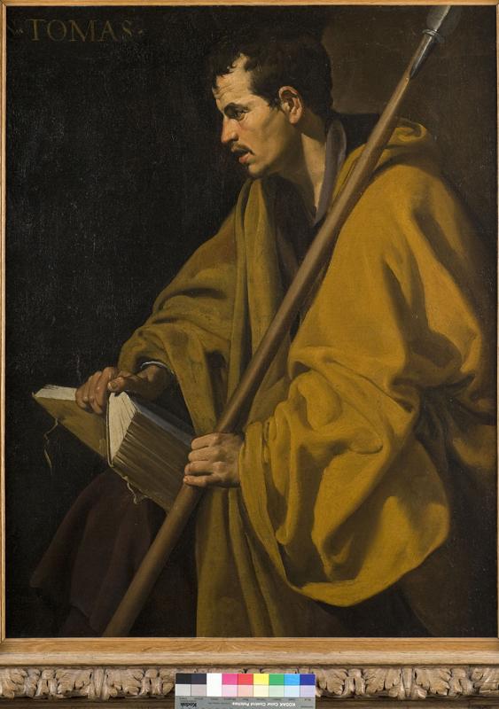 Vélasquez, Ribera, Giordano – Portraits de la pensée : Diego Velasquez, Saint Thomas © Musée des Beaux-Arts d'Orléans