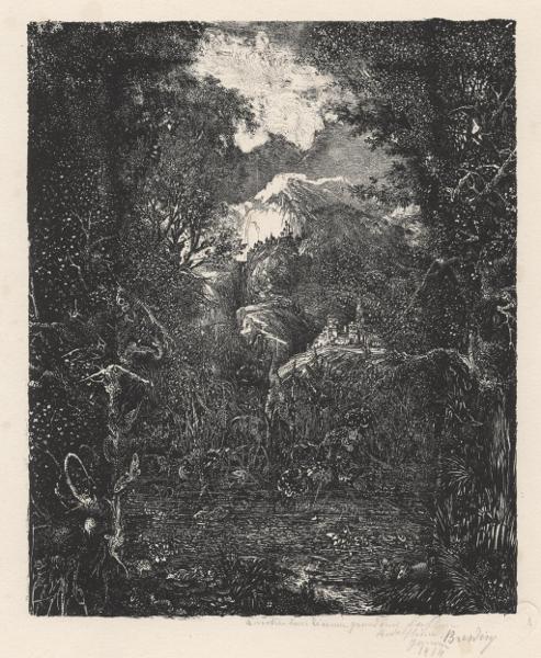 Viens, la mort, on va danser : Rodolphe BRESDIN, les villes derrière le marécage, 1868
