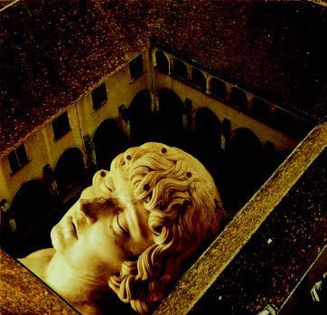 Visions contemporaines de Marguerite d'Autriche : Gaelle Foray. La sieste de Philibert