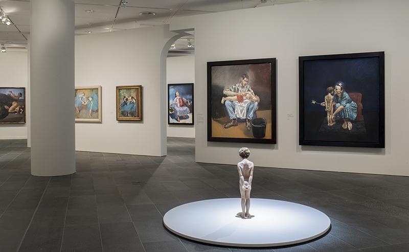 Les Contes cruels de Paula Rego : Vue de l'exposition Les Contes cruels de Paula Rego, musée. © Musee de l'Orangerie - Sophie Boegly-Crepy