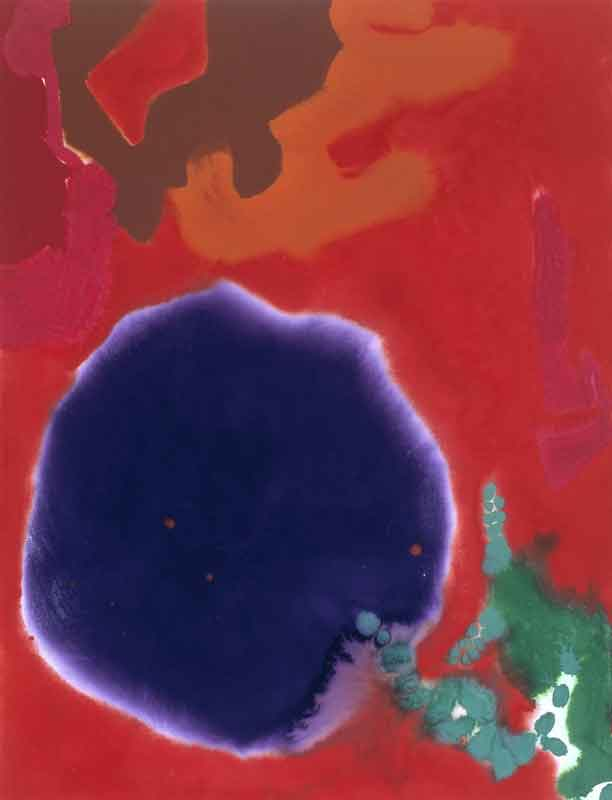 Aquarelle : Patrick Heron January 9: 1983: II  1983 © Estate of Patrick Heron. All Rights Reserved, DACS 2002