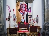 Jonathan Meese. Dr. Merlin de Large (Marquis Zed de Baby-Excalibur). : Jonathan Meese. 2016, installation. Courtesy Panorama photographie, panorama-photographie.com
