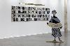 Lubaina Himid - Gifts to Kings : Vue de l'exposition au Mrac, Sérignan, 2018. Photographie Aurélien Mole