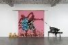 Lubaina Himid - Gifts to Kings : Freedom And Change. 1984, Contreplaqué, technique mixte et peinture acrylique, 290 x 590 cm. Courtesy de l'artiste et Hollybush Gardens, Londres. Photographie par Andy Keate.