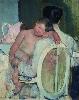 Mary Cassatt - Une impressionniste américaine à Paris : Femme assise avec un enfant dans les bras, 1889, huile sur toile, 81x65 cm, Museo de Bellas Artes de Bilbao