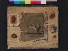L'Art du dessin. Pratiques du dessin du XVIe siècle à nos jours : Jean-Jacques Lequeu Trompe l'œil au papier bleu Gouache sur papier, 30 x 37 cm Fin du 18e siècle